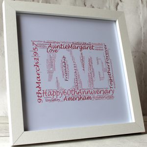 engagement frame personalised for her