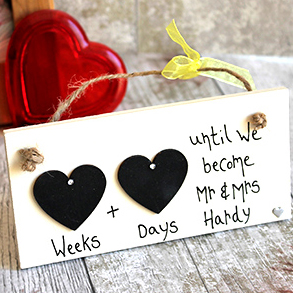 wedding countdown gifts for groom