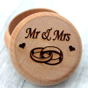 mr and mrs wedding ring box