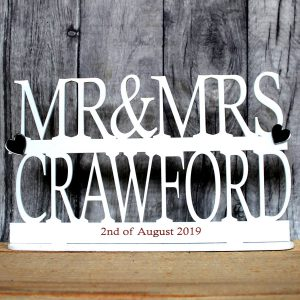 mr and mrs stand