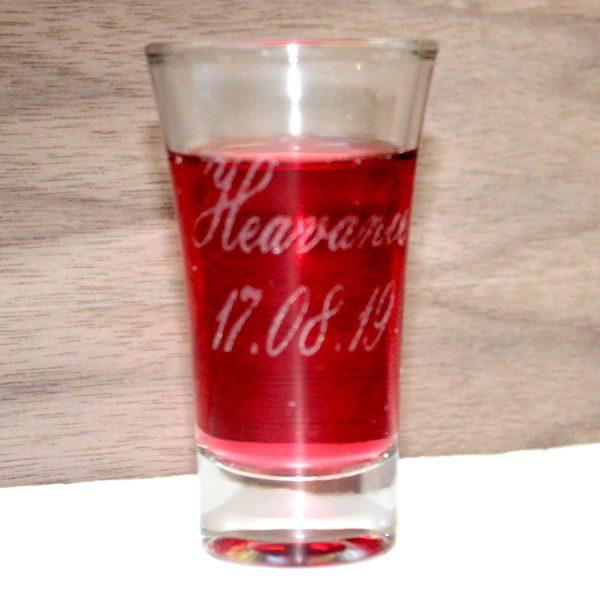 shot glass hen do 2