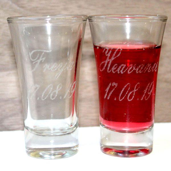 shot glass hen do