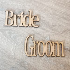 wooden place name